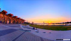 Richmond Oval Sunset #olympics #richmondbc #oval