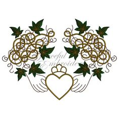 Celtic claddagh Machine embroidery designs