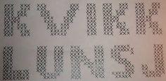 Garn: Fritidsgarn Garnmengde: Grønn 50 gram Gul 50 gram Rød 100 g Hvit 50 gram Strikkepinner: Rundpinne nr. 6 eller 7 Mål etter toving... Mittens, Sheet Music, Cross Stitch, Knitting, Math, Words, Masking, Felting, Charts