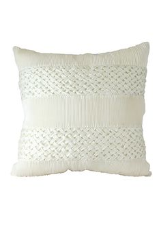 Silver Knight White Cushion Cover