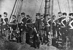 Ship's officer and Marine detachment, USS Kearsarge - American civil War