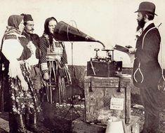 Janáček in a Slovak-Moravian in the borderland village mobile recording studio...