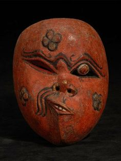 Mask; Island of Java, Indonesia Museum of Ethnography; Budapest