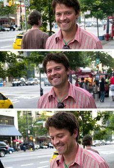 Misha Collins ~ the most adorable man alive