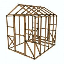 8x10 e z frame chicken coop kit