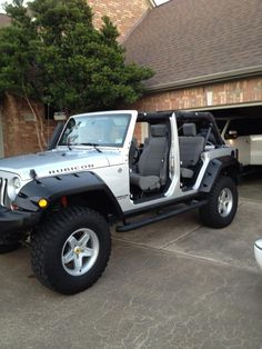 Jeep Wrangler Unlimited without doors Jeep Pinterest
