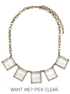 Our Ice Glam Necklace - one of the most popular Buried Baubles, yet.... chosen by Kristina of Pretty, Shiny, Sparkly!      To learn more about the Buried Bauble, and get the weekly clue, go here:  http://baublebar.com/buriedbauble