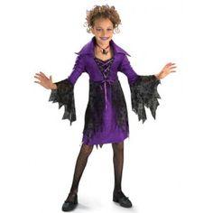 Déguisement Sorcière Gothique Enfant