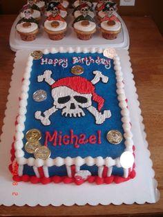 Pirate Cake/ cupcakes