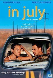 In July is a much lighter, more whimsical film from Turkish filmmaker, Fatih Akin. I don't usually like Rom Coms, but I LOVE this one.