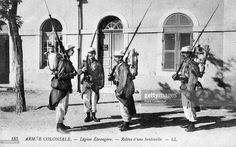 'The Changing of the Guard, The French Foreign Legion', c1910. The French Foreign Legion was established in 1831 as an elite unit of foreign volunteers.