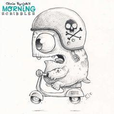 Morning Scribbles