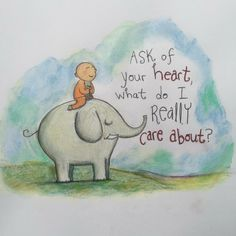 Ask of your heart - Buddha Doodles