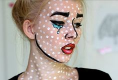 Maquillage halloween cartoon
