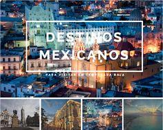 Después de vacaciones de invierno, muchos destinos en México se vacían de turistas y se vuelven más atractivos para viajar. Te pasamos el tip de algunos que te recomendamos conocer.