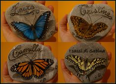 Beautifully painted butterflies!