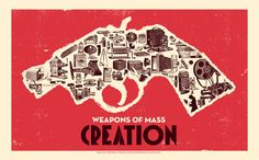 Another Weapons of Mass Creation Fest poster by Angryblue