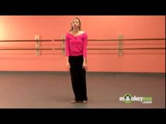 Jazz Dance - Performing Leap Turns - YouTube