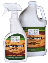 Vermont Natural Coatings, natural wood cleaner