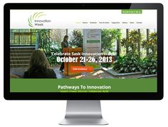A new look responsive website for Sask Innovation Week. Responsive Web Design, Pathways, Innovation, Paths