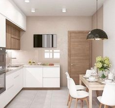 Fantastic modern kitchen room are offered on our internet site. Have a look and you wont be sorry you did. Kitchen Room Design, Kitchen Sets, Modern Kitchen Design, Home Decor Kitchen, Kitchen Furniture, New Kitchen, Interior Design Living Room, Home Kitchens, Design Interior