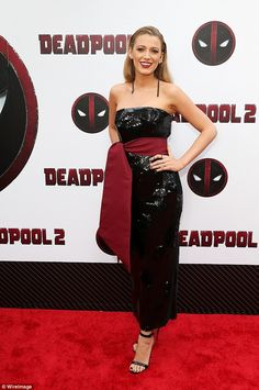 Ryan Reynolds and Blake Lively put on stylish show at Deadpool 2 premiere in New York | Daily Mail Online