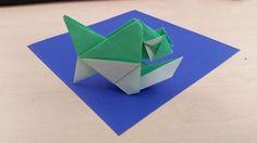 Origami Piranha Fish (Alexander Kurth)  Tutorial https://www.youtube.com/watch?v=1skEq0pajIA