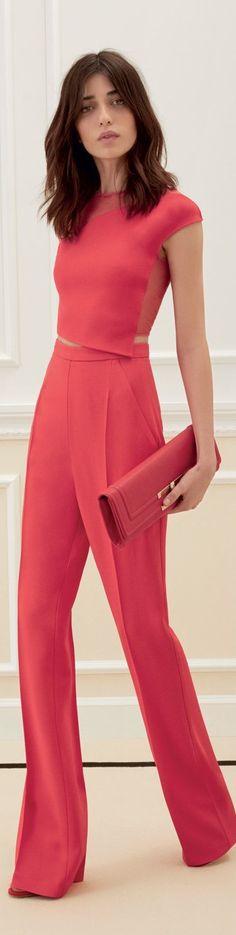 women fashion outfit clothing style apparel @roressclothes closet ideas Elisabetta Franchi 2016