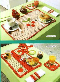 Crochet Maison  Cuisine - Le monde-creatif
