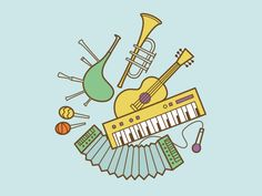 Musical instruments by IDM