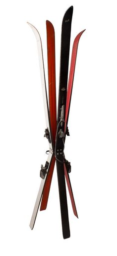 - This ski coat rack features four unique Hart skis. - Hand crafted by metal artisans in Berkeley, CA. - Slight wear lets you know these skis have seen slopes and snow. Rack measures approximately 6'