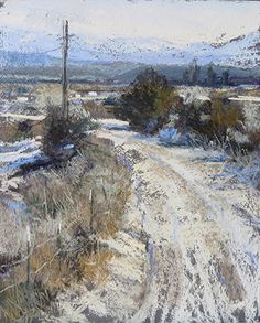 Backroad Arroyo Hondo by Margi Lucena  Pastel 10 x 8. FineArtViews Painting Competition Entry