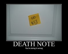 Death Note? by *ParamourxLights on deviantART