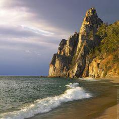 Baikal Lake, Siberia at sunrise