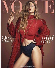 Gigi Hadid on Vogue Korea September Issue 2017
