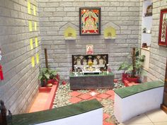 omg pooja room designs and set up for indian homes - Homes Interior Designs