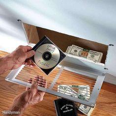 Les 17 meilleurs cachettes pour vos objets de valeur