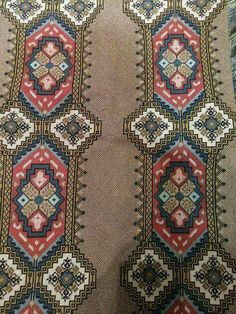 Cross Stitch Embroidery, Cross Stitch Patterns, Sewing Leather, Knitting Needles, Sewing Clothes, Needlepoint, Hand Sewing, Bohemian Rug, Diy And Crafts