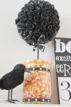 DIY halloween Topiaries. Seems easy enough.