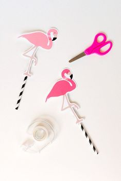 Flamingo party #1 | vanessa pouzet le blog