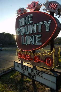 Dig into some brisket and ribs at The County Line. Don't pass on their homemade bread, either. It's especially good when topped with a generous bit of honey butter and washed down with a glass of ice cold sweet tea.