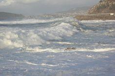 Fotos de temporal. Pontevedra
