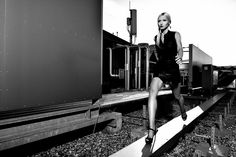 #fashion#rooftop#bw#model# Model: Zsófia Gaál  Mua: Zsuzska Toth  Style: Zita Ónodi  Photo: Gábor Nemes