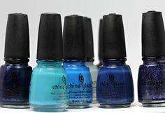 China Glaze Blue
