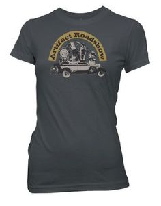 Warehouse 13 Artifact Roadshow Women's Junior T-shirt $21.95