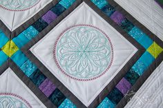 This is what I mean by the fancy quilting that will not happen when I make mine?