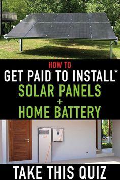 Solar Energy Panels, Solar Panels, Solar Water Heater, Solar Roof, Solar Panel Installation, Solar Battery, Diy Solar, Home Repair, Custom Homes