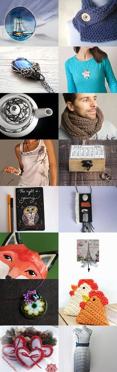Gift guide by Accessories 48.2 by Ann Korniets on Etsy--Pinned with TreasuryPin.com