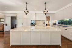 This elegant modern kitchen in a beautiful luxury custom built home by one of Melbourne's best builders also has its own butlers pantry and wine storage. See more of this gorgeous home. Custom Built Homes, Luxury Kitchens, Kitchen Design, Custom Homes, Wine Storage, Modern Kitchen, New Kitchen Designs, Kitchen, Luxury Homes