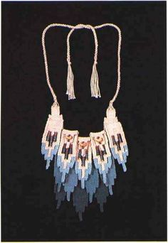 Anasazi Indian Colors Fiber Jewelry